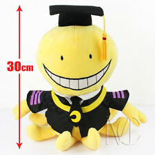 "New 12"" Anime Assassination Classroom Cute Plush Dolls Stuffed Toy Kids Gifts"