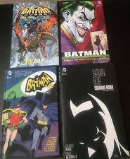 Batman Hardcover & TPB Lot: Noir, Odyssey, '66 Vol. 1, Man Who Laughs