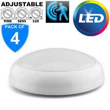 4 x markiert 15W LED Schott Deckenlampe Einbau weiße Einlage IP44 Badezimmer