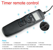 time lapse intervalometer remote timer shutter for Sony A65 A77 A700 A900 DSLR