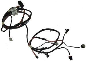 2004-09 Cadillac XLR Rear Fog Lamp Wiring Harness Export Cars 15853353 10392747