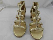Antonio Melani, Gold gladiator sandals, New Size 9.5