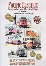 Pacific Electric 3 Northern Dist DVD Pasadena Red Cars