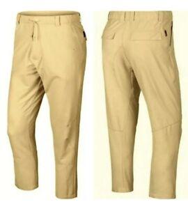 Nike Flex Dri-Fit Novelty Golf Pants Men's Size 34 Yellow AV4123 294