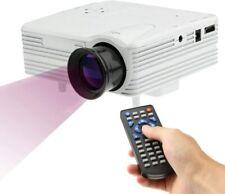 Portable Multimedia LED Projector 1080P Mini Home Cinema USB HDMI TV Theaters US