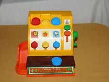 VINTAGE CHILD TOY GAME 1974 FISHER PRICE CASH REGISTER