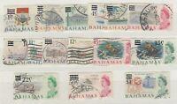 Bahamas QEII 1966 Decimal O/P To $1 VFU JK250