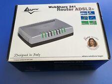 A02-RA241 ATLANTIS LAND WEBSHARE 241 ROUTER ADSL2+ NO WIFI