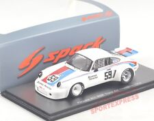 NEW 1/43 Spark S4414 Porsche 911 RSR, TransAm champion 1974, Peter Gregg #59