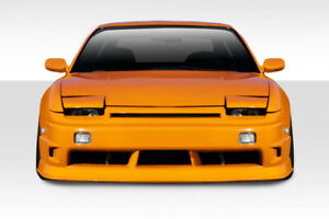 89-94 Fits Nissan 240SX G-PR Duraflex Front Body Kit Bumper!!! 114783