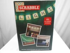 Scrabble Lights With 60 Reusable Stickers
