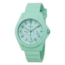 Fossil Poptastic Mint Green Dial Ladies Multifunction Watch ES4188