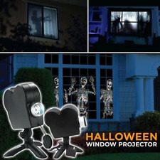 Christmas Holographic Projector Spooky Nights Christmas Party Lights 12 Movies W