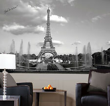 York Prepasted Wall Paper EIFFEL TOWER MURAL Giant Wall Mural 6' x 10.5'