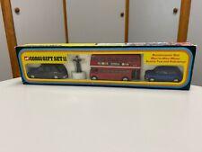 GORGI Gift Set 11 Routemaster Bus Morris Mini-Minor Austin Taxi & Policeman NEW!