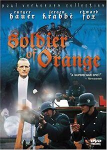 Soldier Of Orange DVD 1977 RUTGER HAUER Dutch World War II WW2 RARE MOVIE