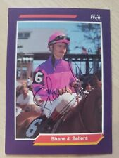 Shane Sellers, Autographed 1992 Jockey Star Card #233 (VG) Only 1 on Ebay!!