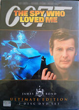 The Spy Who Loved Me (1977) DVD R1,3,4 - Roger Moore, James Bond 007 - 2 Disc -