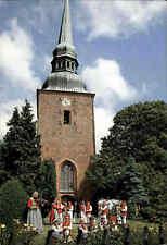 Kirchen Motiv-Ansichtskarte Dänemark Ved Nysted Kirke Kirche Gamle Dansers Vaern