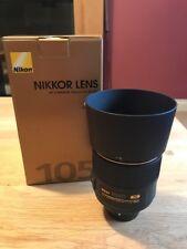 Nikon Nikkor AF-S 105mm F/1.4 E ED Lens