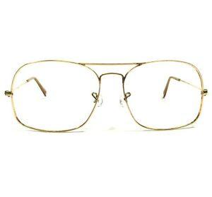 Vintage Bausch & Lomb B&L Ray-Ban Sunglasses Frames Gold Aviators 58-16-130