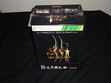 Two Worlds II (Royal Edition)  (Xbox 360, 2011) 2 NEW factory sealed