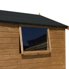 PERSPEX Acrílico efecto invernadero de plástico transparente para techo curvo 610 Mm x 440 Mm x 1.8 mm