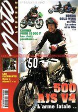MOTO LEGENDE  68 HONDA GL 1000 1500 F6C AJS 500 V4 PUCH 250 DE DION BMW 250