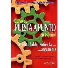 Curso de PUESTA A PUNTO espanol spagnolo per scrivere lettere commerciali ecc ec