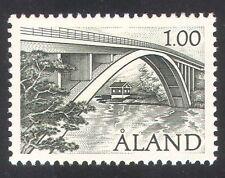 Aland 1987 Bridge/Buildings/Architecture/Engineering/Transport 1v (n39137)