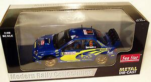 1/18 Subaru Impreza WRC Rally Monte Carlo 2005  S.Sarrazin