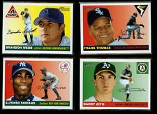 2004 Topps Heritage SP Short Prints Lot - You Pick Your Choice From 80+ cards