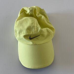 Nike Daybreak Featherlight Running Unisex Hat Yellow Adjustable
