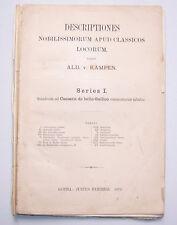 Atlas CARTE ALB. V. Kampen 1879 Justus Perthes gothabillys!
