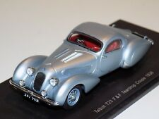 1/43 Spark  Talbot T23F & F Teardrop Coupe  from 1938 in Silver  S2721