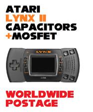 Atari Lynx Model 2 Replacement Capacitors + MOSFET / 20 x Cap Kit / Repair Kit
