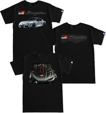 GR Supra Launch Edition Engine Carbon Fiber black T Shirt