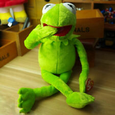 """NEW 17"""" KERMIT THE FROG FROM THE MUPPETS PLUSH SOFT TOY TY"""