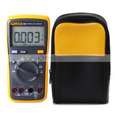 FLUKE 15B+ Auto Range Digital Probe Multimeter With Soft Carrying Case Carrier