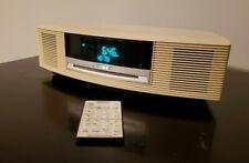 New listing Bose Awrcc2 Wave Music System Radio Am/Fm Cd Player Alarm Clock Remote Mint A+