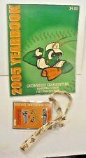 2005 Greensboro Grasshoppers Yearbook-NC Minor League Baseball+ Souvenir Ticket