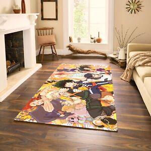 Anime My Hero Academia Area Rug Living Room/Bedroom Carpet Corridor Non-Slip Mat