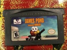 James Pond Nintendo Gameboy ADVANCE GBA Tested AUTHENTIC