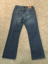 Lucky Brand Jeans Button Fly Straight WOMENS size 8/29 (MEASURED 28x30.5) (4307)