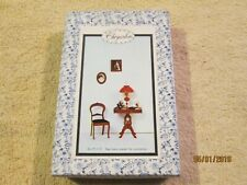 Chrysnbon Kit 1'' Scale Dollhouse Furniture F-110 Table & Chair  NIB