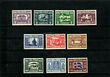 Iceland stamps #152-161, MHOG, VVF, 1930, SCV $117.25