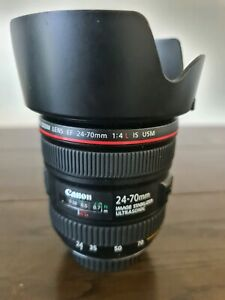 Canon 24mm-70mm 1:4 L is usm