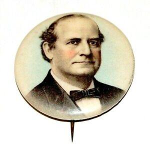 "1896 WILLIAM JENNINGS BRYAN 1.25"" wm. j campaign pin pinback button presidential"