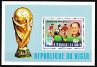 Niger - Fußball-WM Argentinien Block 21 postfrisch 1978 Mi. 644