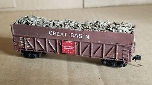 NS9 N Scale Box Car Micro Train Couplers gondola great basin custom awesome load